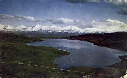 Mount McKinley and Silverthorn - Misc, Alaska AK Postcard