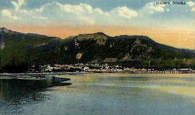 Seaside View - Haines, Alaska AK Postcard