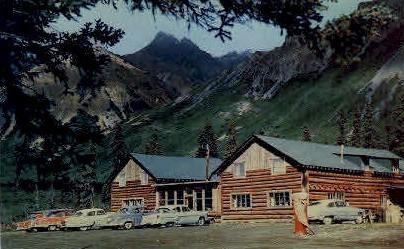 Sheep Mountain Lodge - Misc, Alaska AK Postcard