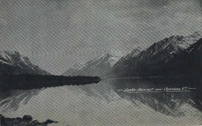 Lake Bennett - Misc, Alaska AK Postcard