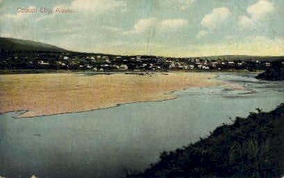 River View - Council City, Alaska AK Postcard