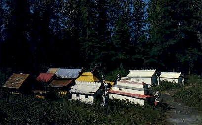 Indian Burial Grounds - Anchorage, Alaska AK Postcard