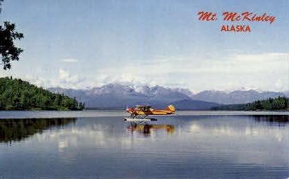 Mount McKinley - Mt. McKinley, Alaska AK Postcard