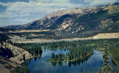 Mount McKinley National Park - Mt. McKinley National Park, Alaska AK Postcard