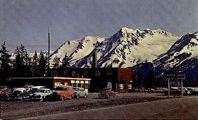 Portage House - Alaska AK Postcard