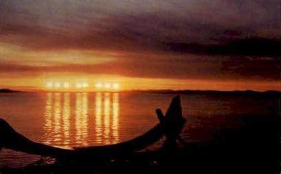 Midnight Sun in Alaska - Misc Postcard