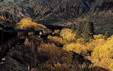 Trainside View - Misc, Alaska AK Postcard