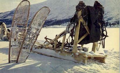 Alaskan Trapper's Gear - Misc Postcard