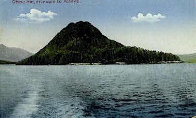 China Hat - Misc, Alaska AK Postcard