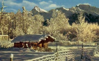 Northland Winter - Misc, Alaska AK Postcard