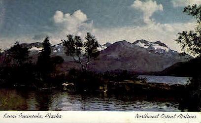 Kenai Peninsula - Alaska AK Postcard