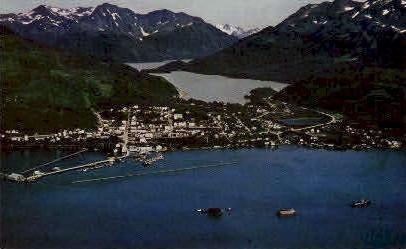 Large Seafood Industry - Cordova, Alaska AK Postcard