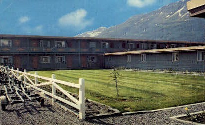 Wyatt House - Valdez, Alaska AK Postcard