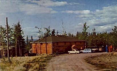 Riverside Lodge - Misc, Alaska AK Postcard