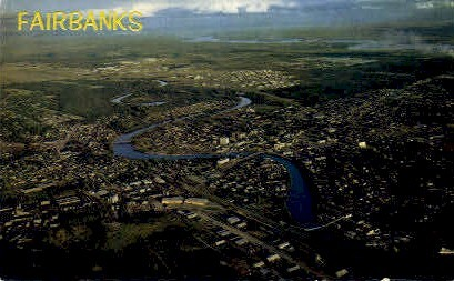 Fairbanks, Alaska, AK Postcard
