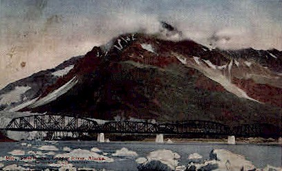Steel Bridge  - Misc, Alaska AK Postcard