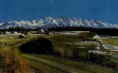 Matanuska Valley - Misc, Alaska AK Postcard