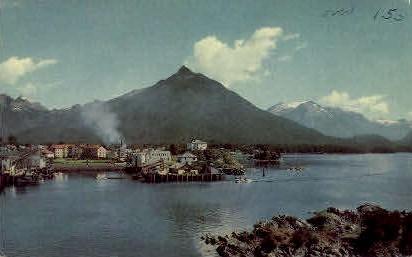 Union Oil Company's - Sitka, Alaska AK Postcard