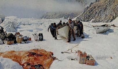 Hunter from Ukivok - Misc, Alaska AK Postcard