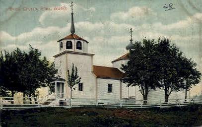 Greek Church - Sitka, Alaska AK Postcard