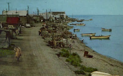 The Main Street - Kotzebue, Alaska AK Postcard