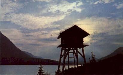 Kenai Lake - Kenai Peninsula, Alaska AK Postcard
