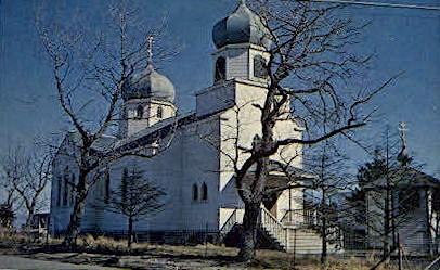 Russian Greek Orthodox Church - Kodiak, Alaska AK Postcard