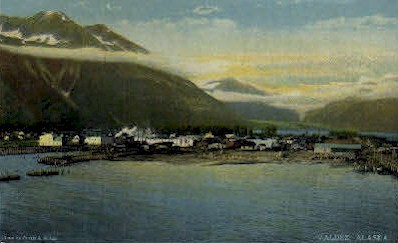 Valdez, Alaska, AK Postcard