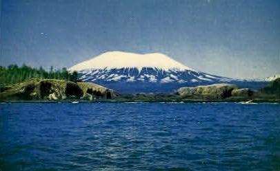Mount Edgecumbe - Sitka, Alaska AK Postcard