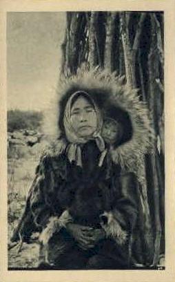 Aurore Boreale - Misc, Alaska AK Postcard