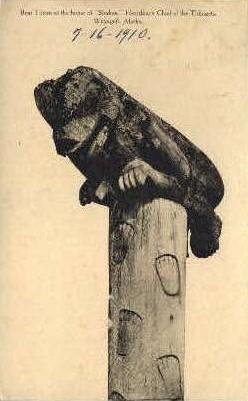 Bear Totem at home of