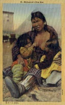 Mickaninie's Kow Kow - Misc, Alaska AK Postcard