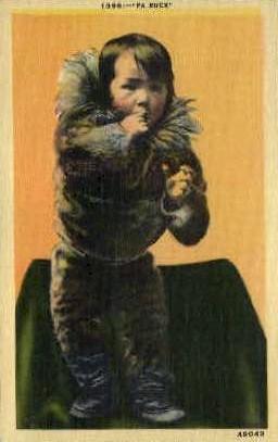 Pa Ruck - Misc, Alaska AK Postcard