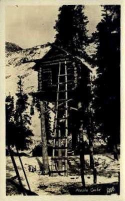 Real Photo - Alaska Chache - Misc Postcard
