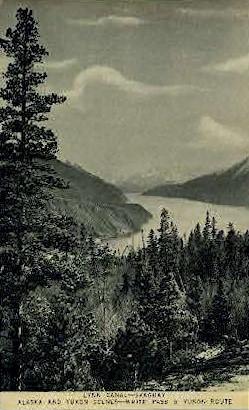 Lynn Canall - Skagaway, Alaska AK Postcard
