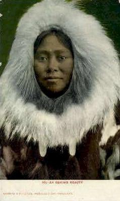 An Eskimo Beauty - Misc, Alaska AK Postcard