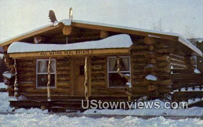 Hill Mathis Real Estate - Fairbanks, Alaska AK Postcard