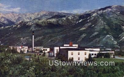 McKinley Park Hotel - Alaska AK Postcard