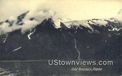 Gold Mountain, AK,;    Gold Mountain, Alaska Postcard