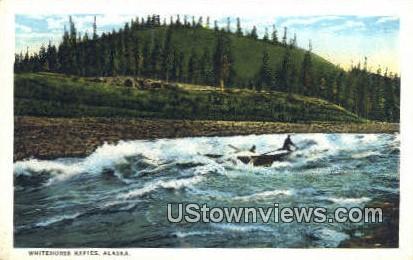 Whitehorse Rapids, AK,;    Whitehorse Rapids, Alaska Postcard