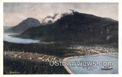 Fort WH Seward - Haines, Alaska AK Postcard