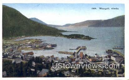 Wrangell, AK,;    Wrangell, Alaska Postcard
