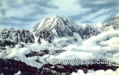 Mt. McKinley, Alaska,;   Mt. McKinley, AK Postcard