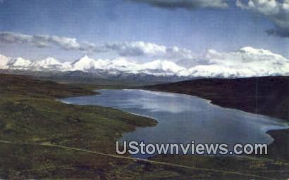Mt. Silverthorne - Mt. McKinley, Alaska AK Postcard