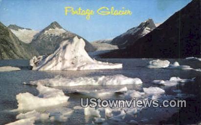 Portage Glacier, AK,;    Portage Glacier, Alaska Postcard