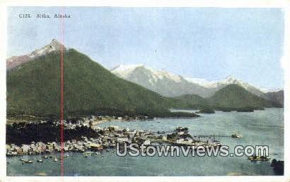 Sitka, Alaska,;   Sitka, AK Postcard