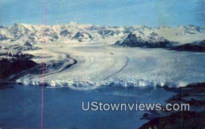 Columbia Glacier - Valdez, Alaska AK Postcard