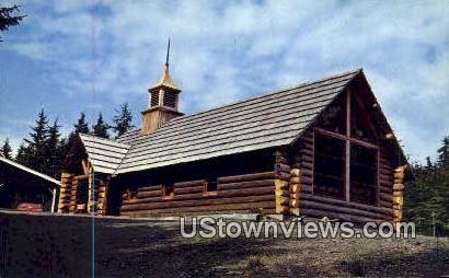 Chapel By the Lake - Auke Bay, Alaska AK Postcard