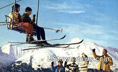 National Alpine Ski Championships - Mt. Alyeska, Alaska AK Postcard