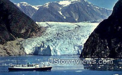 S.S. Glacier Queen - Tracy Arm, Alaska AK Postcard